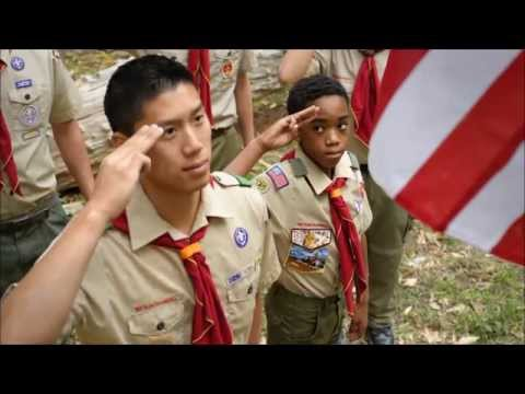 The Scoutmaster and Scout Leaders