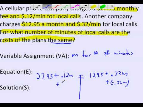 Algebra homework help for problems with variables on both sides