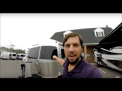 Walk Through 2016 Airstream Flying Cloud 28A Twin Bed Travel Trailer