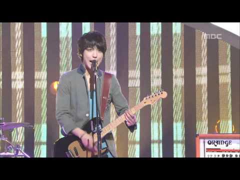 CNBLUE - Love Girl, 씨엔블루 - 러브 걸, Music Core 20110514