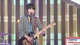 CNBLUE - Love Girl, 씨엔블루 - 러브 걸, Music Core 20110514