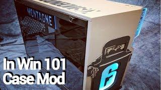 Modding the InWin 101 PC case! (Rainbow Six Siege themed)