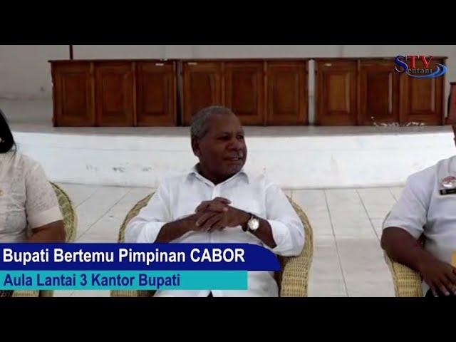 Bupati Jayapura Bertemu Pimpinan CABOR | PON XX
