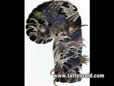 Tattoo Flash 01 A Chinese Tattoo Designs Book Youtube