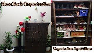 Shoe rack organisation ideas || জুতার রাক গোছানোর টিপস এবং আইডিয়া || Bangla vlog