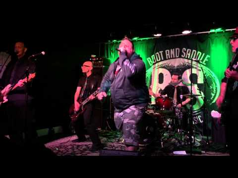 """Pat Society singing """"Red Tape"""" by Circle Jerks w/ Punk Rock Karaoke Philly Boot and Saddle 5/13/15"""