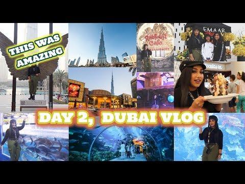 DAY 2 || SEEING THE BURJ-KHALIFA AND DUBAI MALL ,EXPERIENCING THE DUBAI AQUARIUM AND UNDER WATER SEA