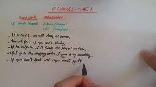 If Clauses Type 1 Konu Anlatımı