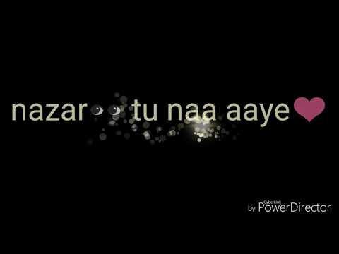 Atif aslam😍mar jaye,.....kash vo pal whatsapp status song