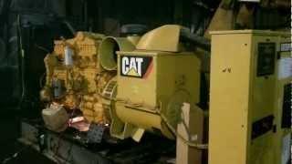 Запуск дизель-генератора Caterpillar 3406-CD400 після ремонту
