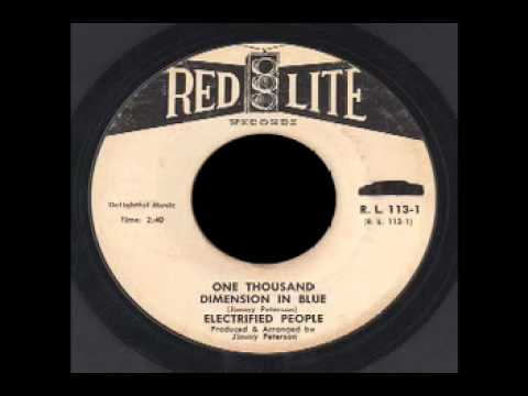 Electrified People - One Thousand Dimension in Blue