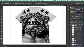How To Design A T-shirt In Adobe Photoshop Cs6