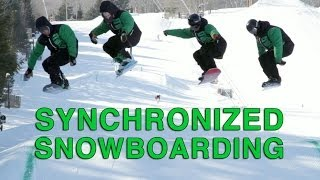 The Empire Terrain Park Crew at Hunter Mountain are training for th...