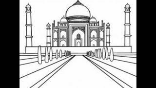 Techniques to Draw the Taj Mahal