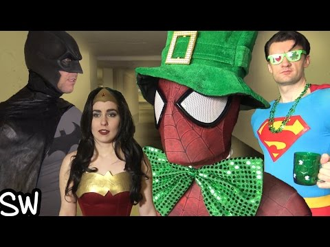 Spider-Man, Batman, Superman, Wonder Woman GET RICH!