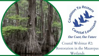 Coastal Webinar#2: Restoration in the Maurepas Wetlands