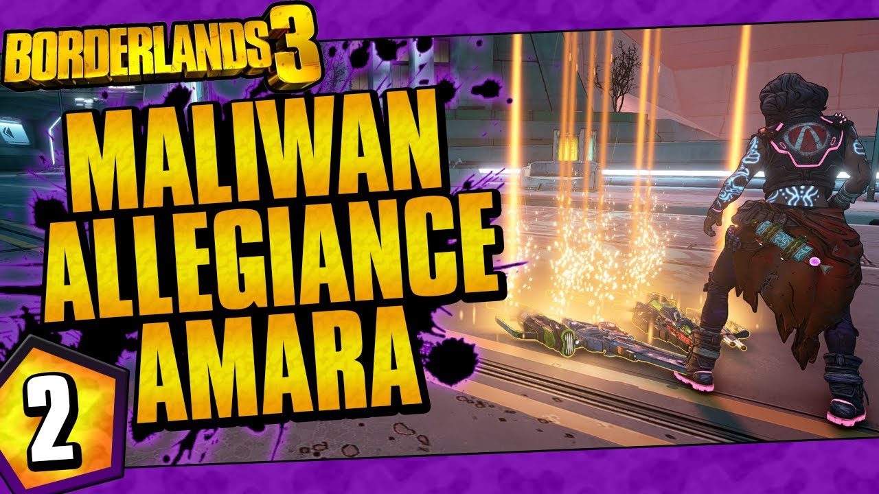 Borderlands 3 | Maliwan Allegiance Amara Funny Moments And Drops | Day #2 thumbnail
