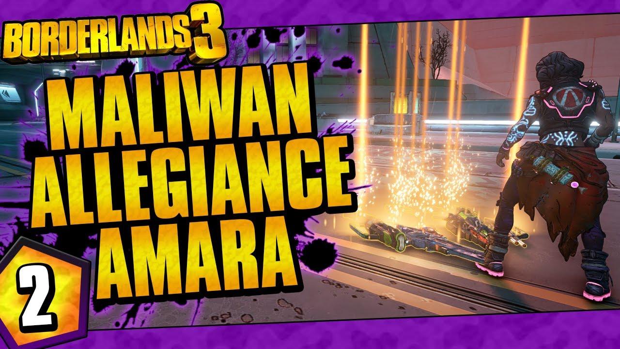 Borderlands 3 | Maliwan Allegiance Amara Funny Moments And Drops | Day #2 thumbnail