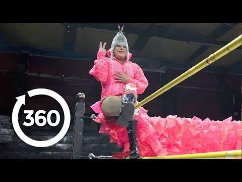 Mexico's Transgender Superstar Wrestler | Mexico City, Mexico 360 VR Video | Discovery TRVLR