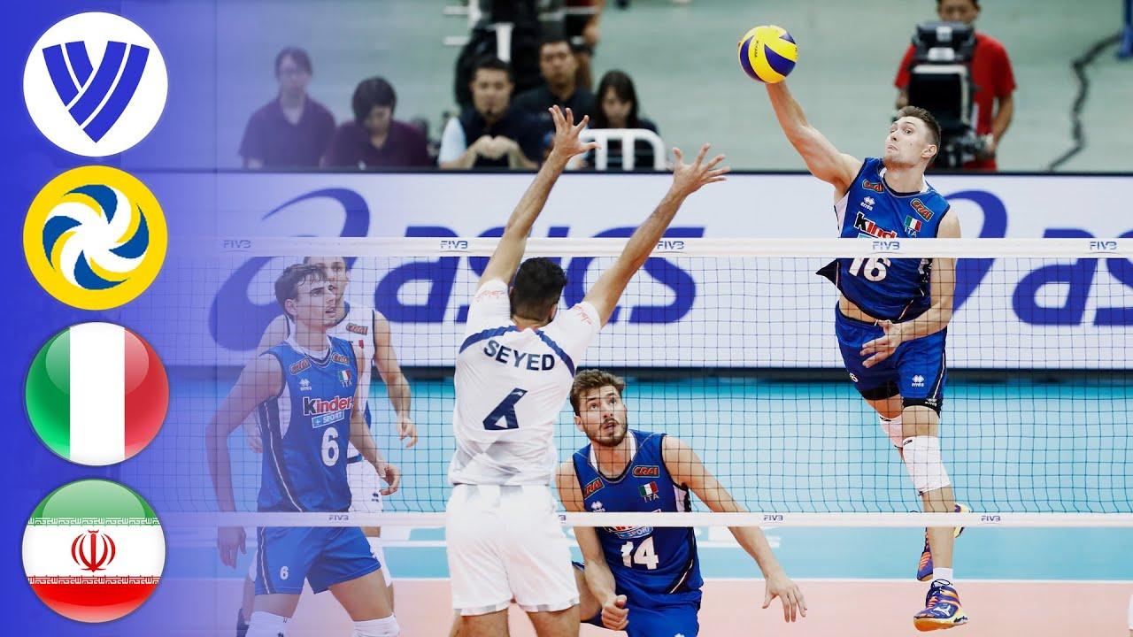 ITA vs. IRI - Full Match | Men's Volleyball World Grand Champions Cup 2017