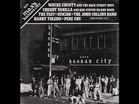 1976 Max's Kansas City - VV. AA. (1976) full album