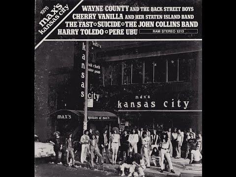 1976 Max's Kansas City - VV. AA. (1976) full album