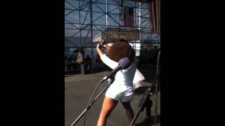 "Philly Pride 2012 ""Sabrina Johnston"" live performance pt 1"
