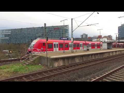 DB S-Bahn Rhein Main ET 430 und Fernverkehr ICE3 in Frankfurt Niederrad