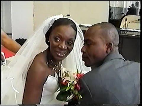 MARIAGE  DE  CHANTAL  ET JACOB ( CRETEIL LE 02 JUILLET 2005 )