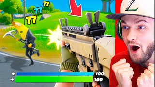*NEW* FIRST PERSON MODE in Fortnite! (IT'S AMAZING!)