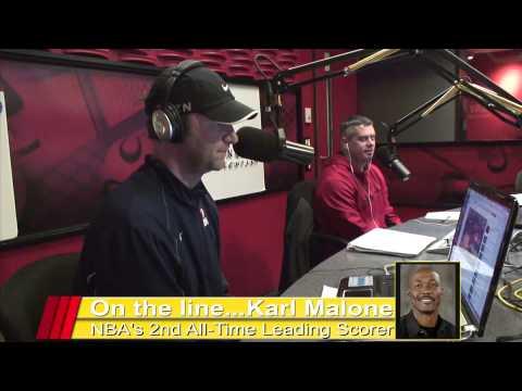 Karl Malone Interview