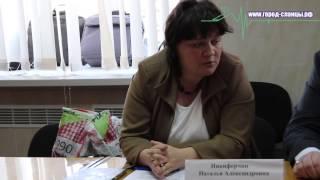 Обсуждение проблем сельских поселений Сланцевского района