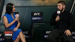 Khabib Nurmagomedov on retirement: I have nothing else to prove | UFC Post Show | ESPN MMA