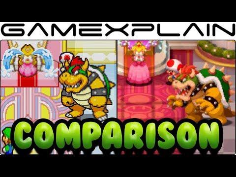 Mario & Luigi: Superstar Saga Head-to-Head Comparison (GBA vs 3DS)