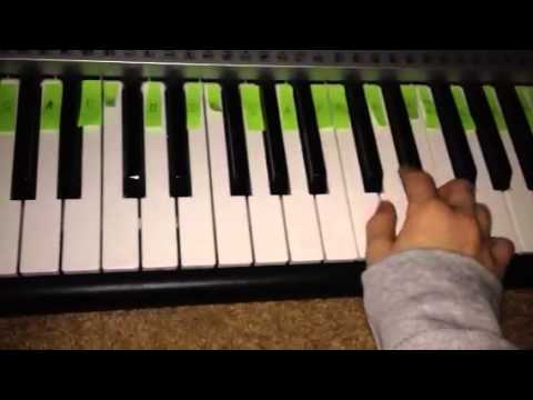 How To Play Axel F On Keyboard Youtube