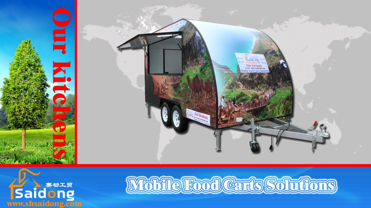 Quality Food Trailer For Sale