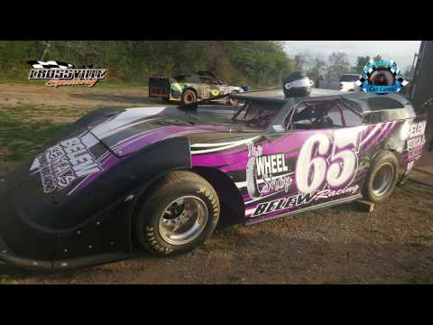 #65 Doug Belew - Crate - 4-14-17 Crossville Speedway - In-Car Camera