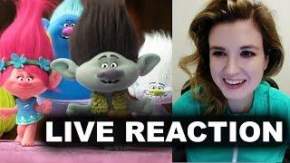 Trolls Trailer Reaction - 2016