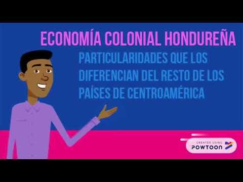 Economía Colonial En Honduras