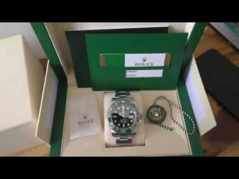 Rolex Submariner Date 116610LV The Hulk From 2019
