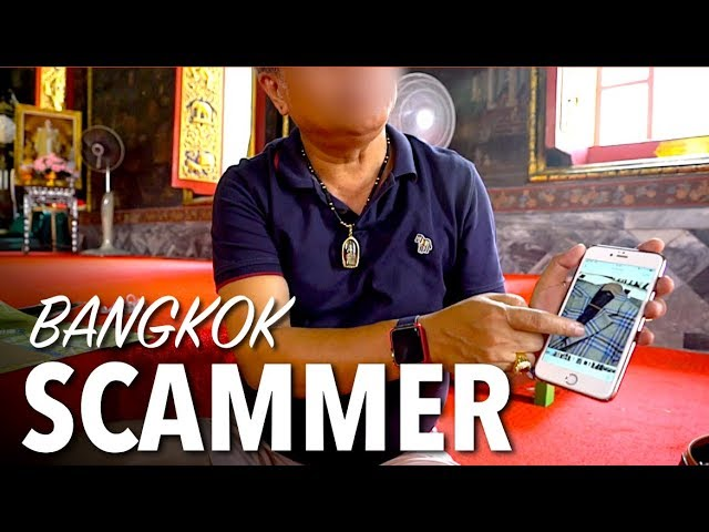 SCAMS IN BANGKOK THAILAND - Watch out for THIS!