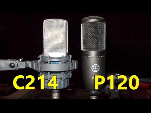 The AKG P120 vs the C214