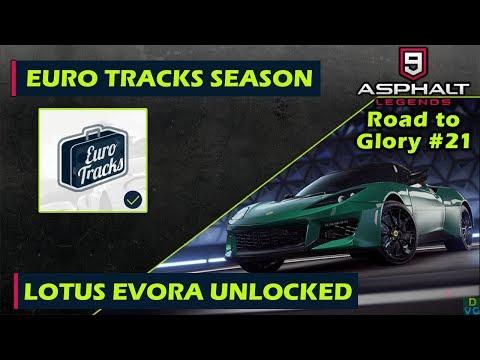 Asphalt 9: Legends - F2P RTG #21 | Euro Tracks Season & Lotus Evora Unlocked