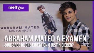 Abraham Mateo: ¿Cuánto sabe de Ariana Grande y One Direction? (Entrevista meltyfan)