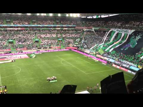 ENTRADA TRIUNFAL- SPORTING VS BENFICA 2013/2014 from YouTube · Duration:  2 minutes 35 seconds