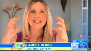Dating Coach Laurel House on Good Morning America… SettleForLove