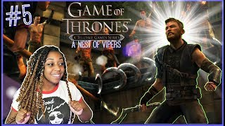 "YOU WANT TO FIGHT?!? | Telltale: Game Of Thrones Episode 5 ""A Nest Of Vipers""!!"