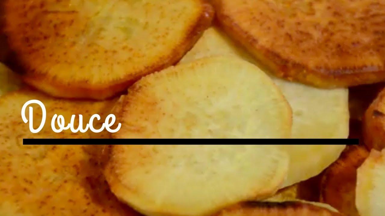 recette patate douce la po le en de 5 minutes youtube. Black Bedroom Furniture Sets. Home Design Ideas