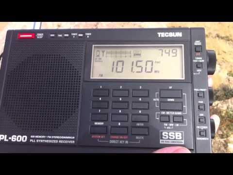 Chimgan (Uzbekistan) - FM Scan