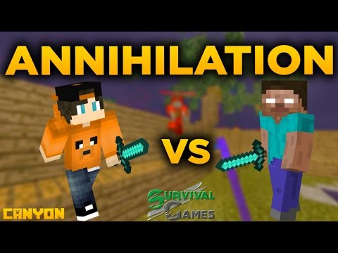 Minecraft Annihilation - Canyon | Hon na hackery!